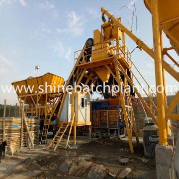 Portable Cement Batch Plant