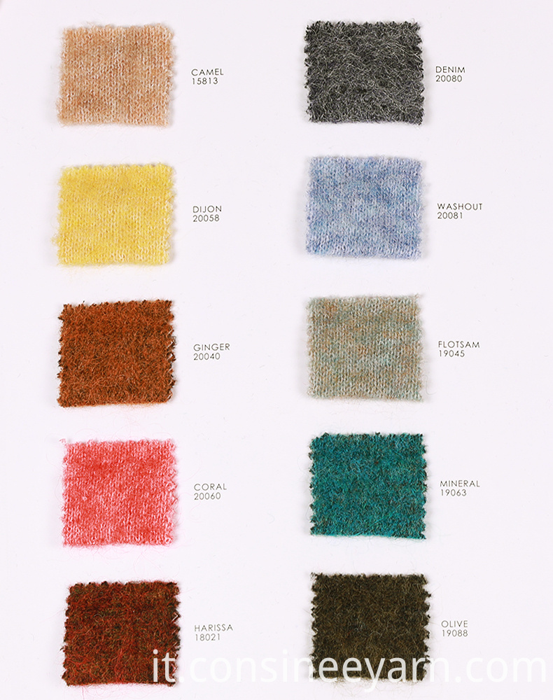 mohair knitting wool 2