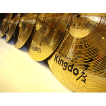 Customized for Copper Cymbals Good Quality Brass Set Cymbals Prcussion Cmbals export to Trinidad and Tobago Factories