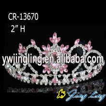 Small Rhinestone Cheap Tiara