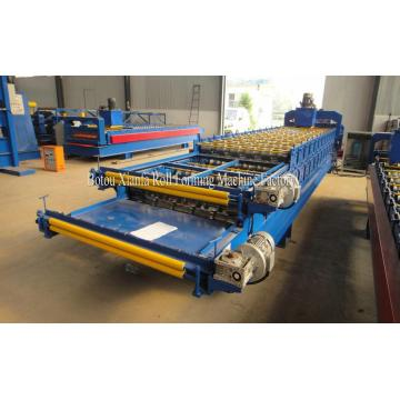 Galvanized Sheet Double Roof Roll Forming Machine