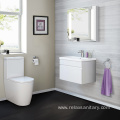 bathroom vanity cabinet  grain wood finished