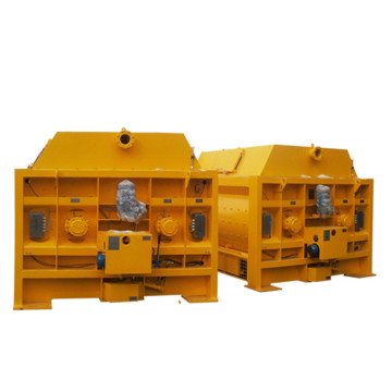 Compact continuous construction mixer js concrete mixer