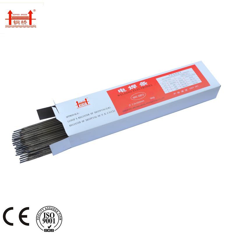3.2mm X 350mm Titanium E6013 Welding Electrodes China