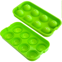 8 Silicone Sphere Ice Ball Mold