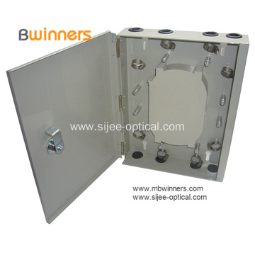 Wall Mount Fiber Optic Distribution Box 24 Cores