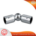 High Quality Brass L Shape Glass Door Hinge