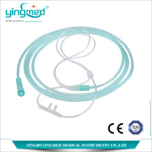 factory low price Used for Disposable Oxygen Tubing Disposable PVC Nasal Oxygen Cannula supply to Congo Manufacturers