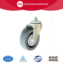 shopping Cart PU Caster, medical caster wheel