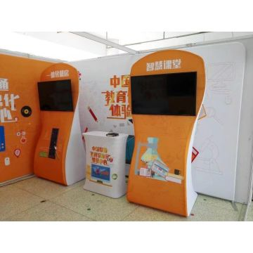Hop Up Stretch Fabric Display Backdrop for Exhibition