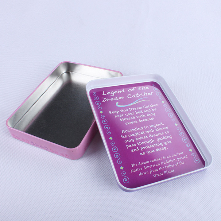 Metal Tinplate Material Cosmetics Mascara Tin Boxes