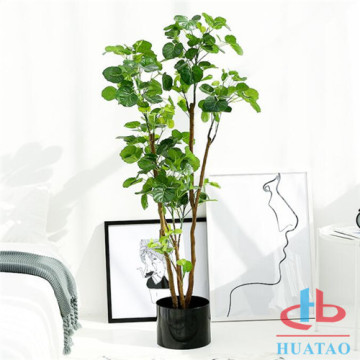 Natural Hanging Artificial Potted Plants Green Plants