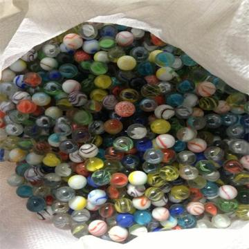 Hot sale for Frosted Glass Marbles Wholesale cheap glass marble ball supply to Angola Importers