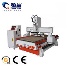 China for Auto Tool Changer Woodworking Machine,Engraving Cnc Machine Manufacturers and Suppliers in China ATC function wood working cnc router machine export to Latvia Manufacturers
