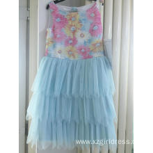 China for Long Dresses Embroidered Tata party dress export to Antigua and Barbuda Factory
