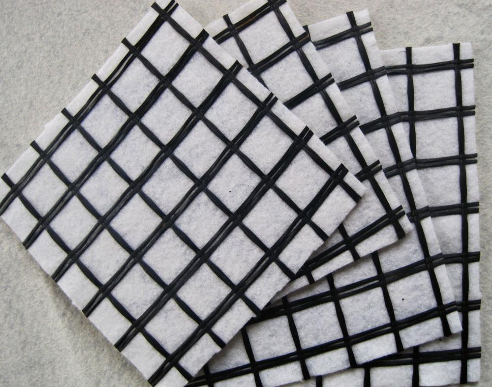 Coated Polyester Geogrid With Spunbond Nonwoven Geotextile