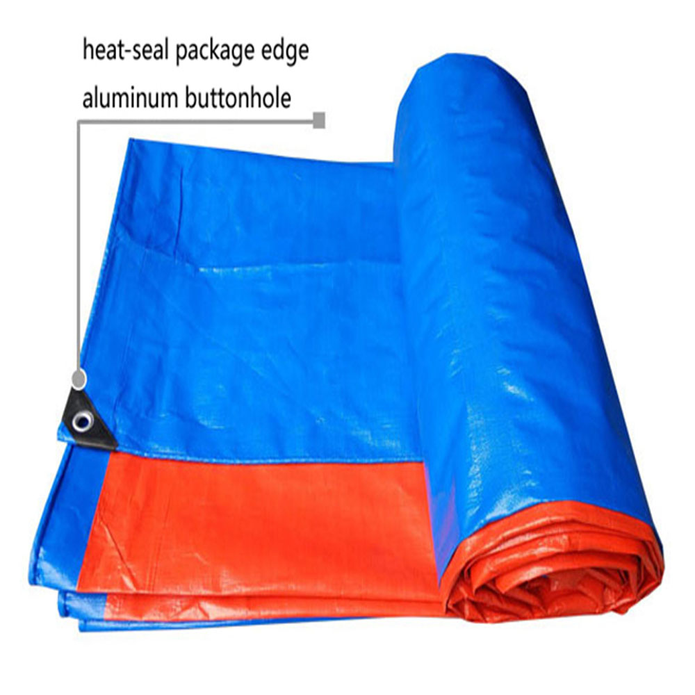 ECO-Friendly Blue Orange Tarpaulin Roll