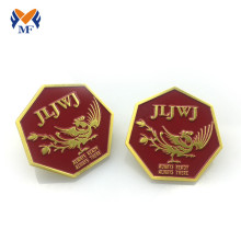 Good Quality for Custom Button Badges Metal logo brooch button badge pin custuom design export to Kuwait Suppliers