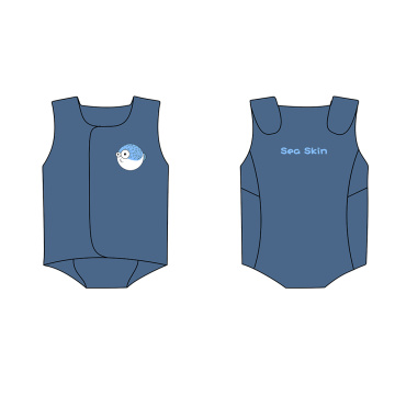 Seaskin Unisex Toddler Wetsuits Wraps with Velcro