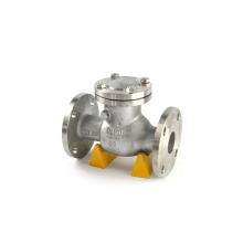 stainless steel dual check valve din wafer type tilting check valve wcb
