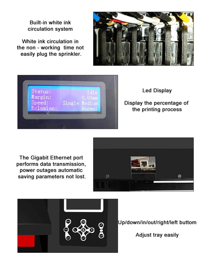 Epson XP600 UV Flatbed Printer China Manufacturer