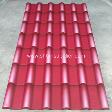 100% Non-asbestos Magnesium Oxide Roof Tiles