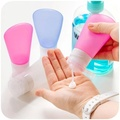 TSA Approve Silicone Foldable Travel Bottles