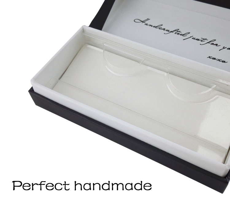 Luxury cardboard eyelashes packaging