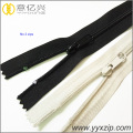 long chain plastic nylon zipper for pants