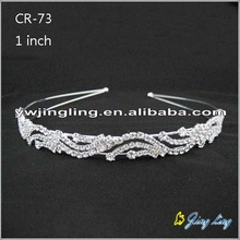 Crystal Silver Hairband