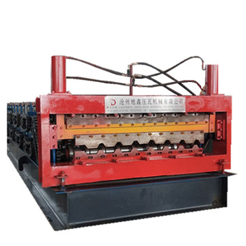 Ibr double sheets automatic roll forming machine
