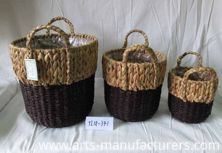 round weaving basket