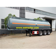29500 Litres 30T HCl Tanker Semi-Trailers