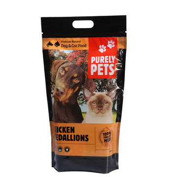 BPA Free Laminated Plastic Pet Food Packaging Bag