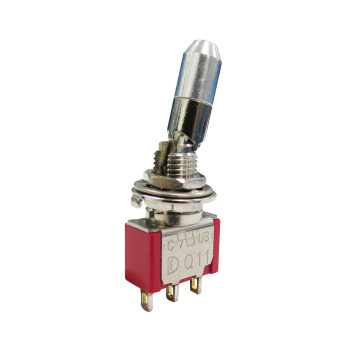 Multi Position Miniature Momentary Latching Toggle Switch