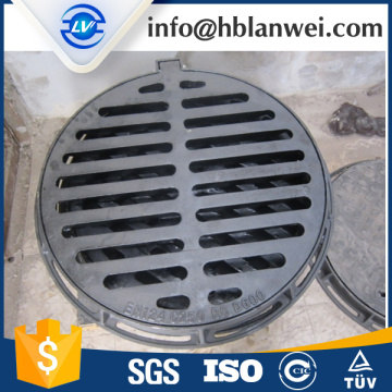 Europe style for Cast Iron Gully Grates Composite Water Drain Grate EN124 BMC SMC export to Poland Factories