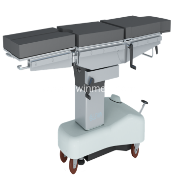 Manual hydraulic Operting Table with Sliding movement
