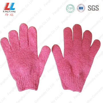 exfoliating shower pet bath gloves wholesale for shower