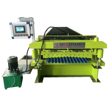 Automatic Corrugated Galvanised Sheet Forming Machine