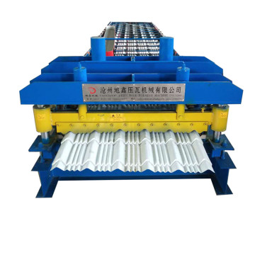 Steel tile machine zinc glazed tile