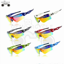 High quality Interchangeable Polarized bicycle glasses