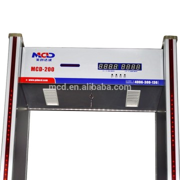 Walkthrough metal detector for security metal detector