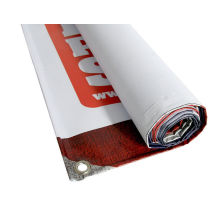 Outdoor Hanging PVC Poster Banner with Eyelets