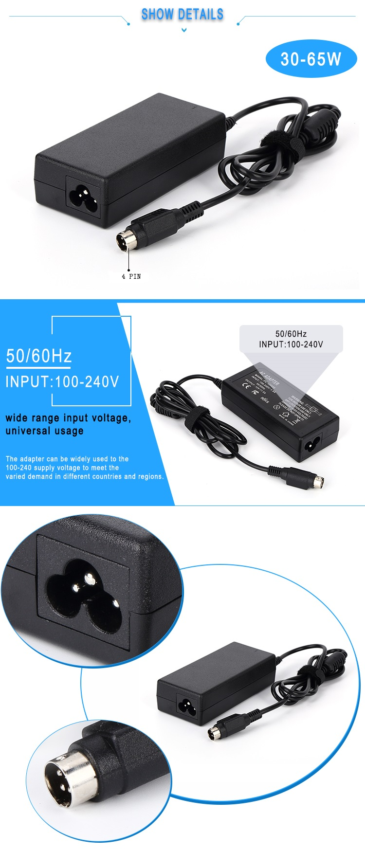 12v 5v 2a power supply adapter