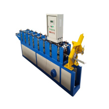 Korea Customized Steel Ridge Cap Roll Forming Machine