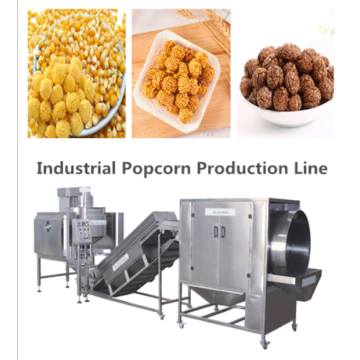Industrial Popcorn processing line from good suppliers