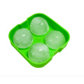 Reusable 4*4.5cm Sphere Silicone Ice Ball Maker Mold