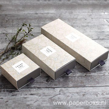 Customized Size Hard Cardboard Drawer For Soap