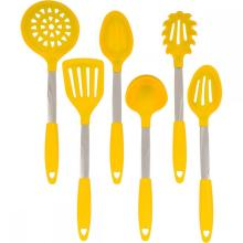 Food Grade 6pcs Silicone Utensils Kitchenware