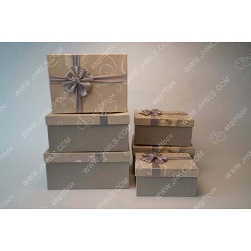 Ribbon Handmade Hat Packaging Box